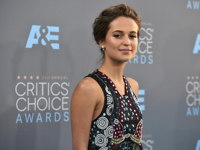 Ex Machina star Alicia Vikander nominated for her role in The Danish Girl. (Jordan Strauss/Invision/AP)