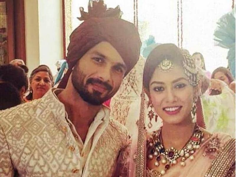 In 2015, Delhi was the venue for the high-profile nuptials of Shahid Kapoor and Mira Rajput. (Twitter)