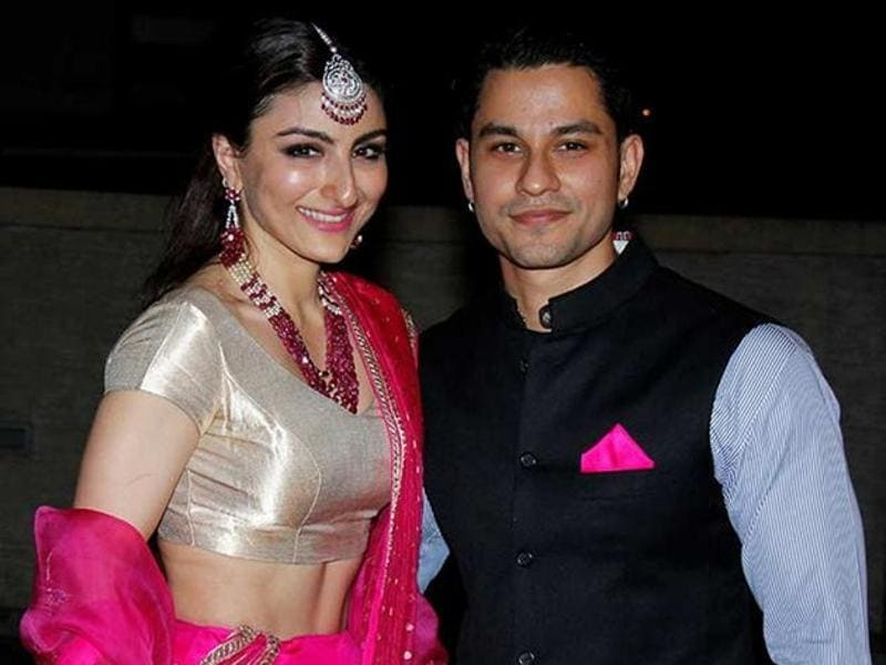 Soha Ali Khan also got married in 2015 with Kunal Kemmu in a style fit for the nawabs. (HT Photo)