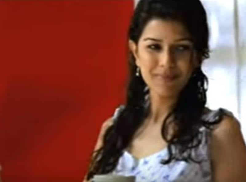 Nimrat was also seen in an advertisement for Asian Paints.
