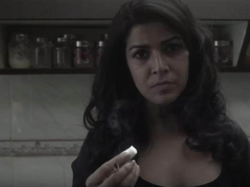 Nimrat Kaur in a short film called Elaichi. It was about love and moving on in life.