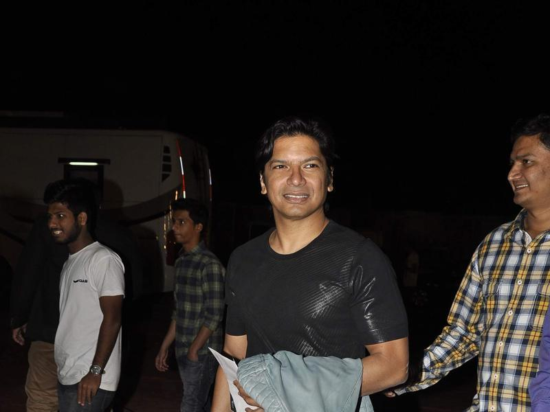 Singer Shaan arrives at the annual Mumbai Police Melawa show in Mumbai on January 19, 2016.  (Viral Bhayani/HT)