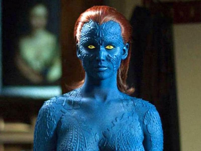 X-Men: Days of Future Past (2014). A bigger star now, Lawrence's Mystique had more screen time in the X-Men sequel and a larger character arc.