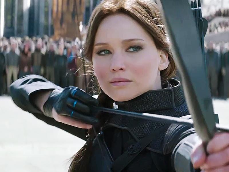The Hunger Games: Mockingjay - Part 2 (2015). Lawrence picked up the bow one last time in the last installment of her biggest movie series.