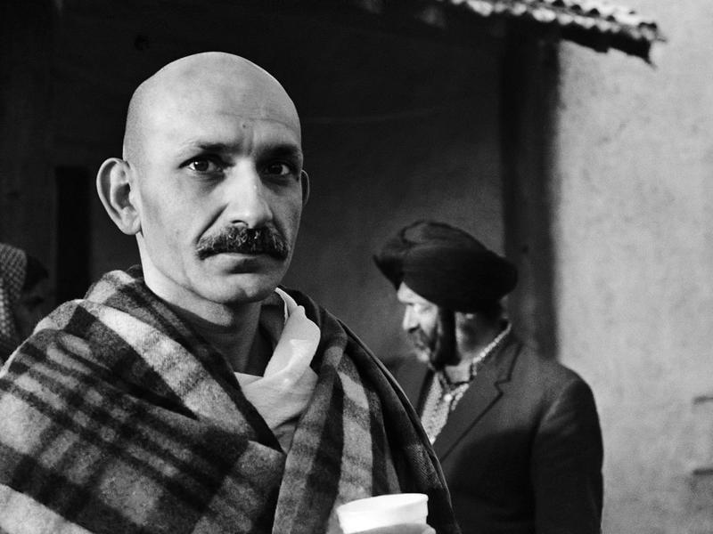 Ben Kingsley As Gandhi New Delhi 1981 Photo Pablo Bartholomew