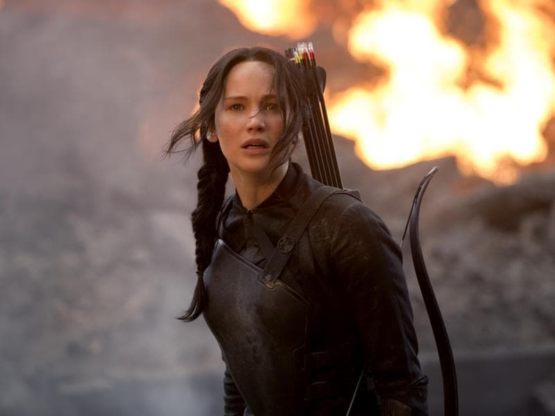 The Hunger Games: Mockingjay - Part 1 (2014). Lawrence returned to her star-making role in the first part of the epic finale of the Hunger Games series.
