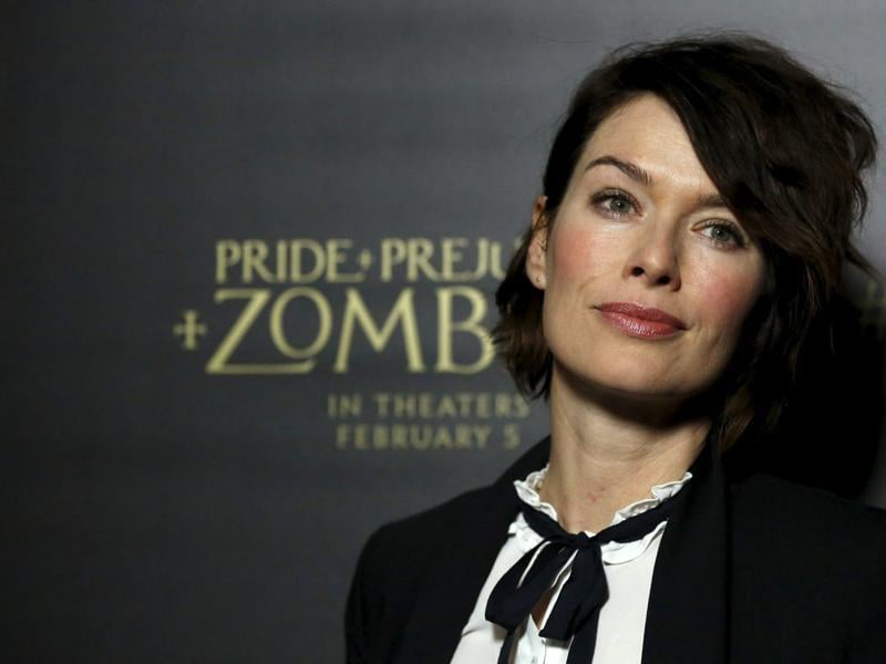 Game of Thrones star Lena Headey poses at the premiere of Pride and Prejudice and Zombies in Los Angeles, California. (REUTERS)
