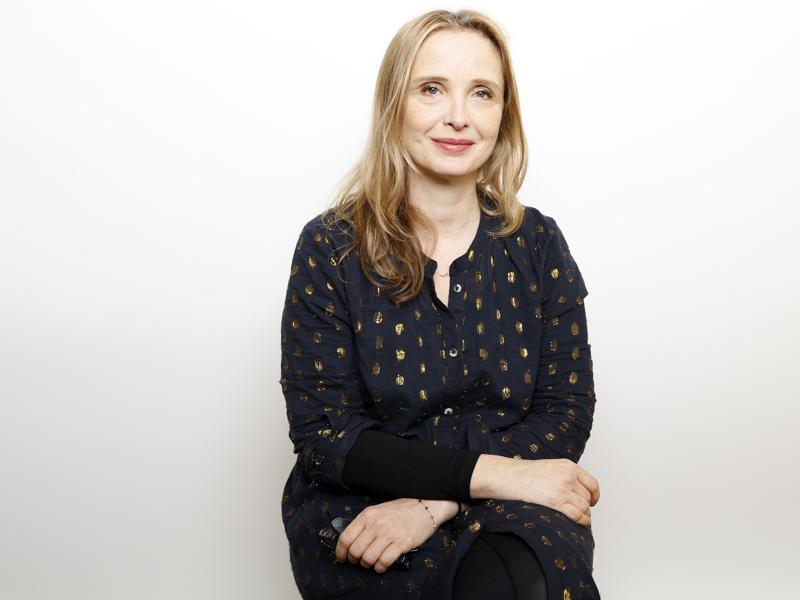 Before Sunrise actor Julie Delpy poses for a portrait to promote the film, Wiener-Dog, at the Sundance Film Festival  in Park City, Utah.  (Matt Sayles/Invision/AP)