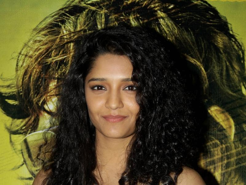 Ritika Singh attends the special screening of her Bollywood debut Saala Khadoos where she features in the lead role.  (AFP)