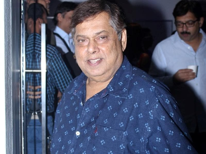 Filmmaker David Dhawan during the special screening of Saala Khadoos in Mumbai. (IANS)