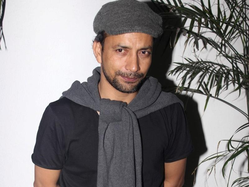 Deepak Dobriyal during the special screening of Saala Khadoos in Mumbai. (IANS)