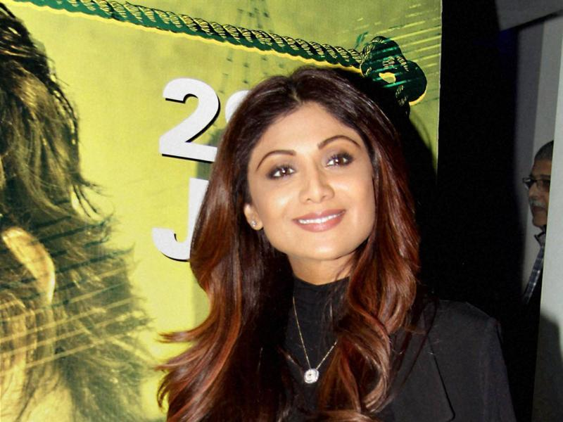 Shilpa Shetty at the special screening of Saala Khadoos in Mumbai .  (PTI)