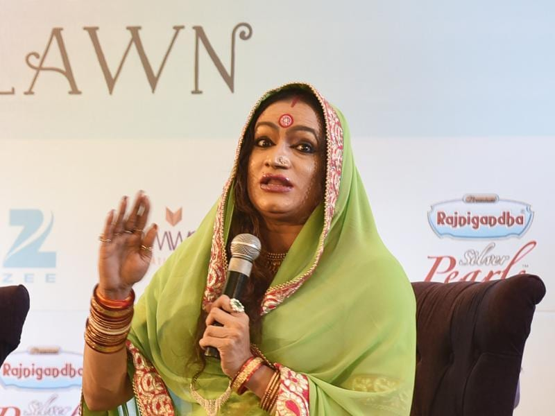 Laxmi Narayan Tripathi during the session