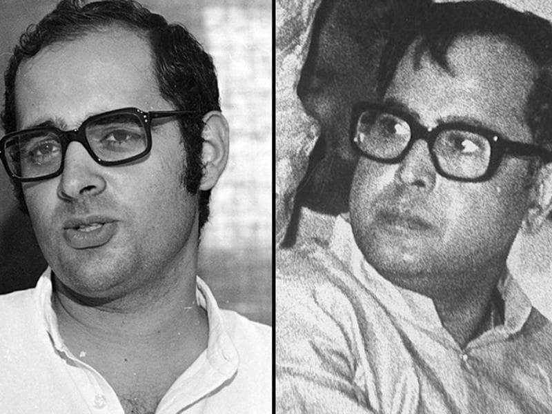 President Pranab Mukherjee, in the second part of his memoir, heaps praise on late Congress leader Sanjay Gandhi and calls him the principal architect, along with his mother, of the party' victory in 1980 general elections. (HT File Photo)