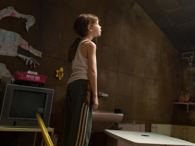 Room (2015): A mother and her 5-year-old child have been imprisoned in a room. It is their entire world.