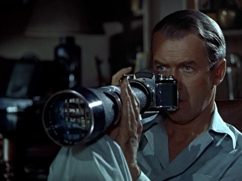 Rear Window (1954): A wheelchair bound photographer spies on his neighbours from his apartment window and becomes convinced one of them has committed murder.