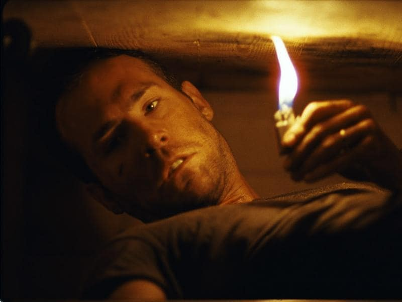 Buried (2010): Paul is a U.S. truck driver working in Iraq. After an attack by a group of Iraqis he wakes to find he is buried alive inside a coffin. With only a lighter and a cell phone it's a race against time to escape this claustrophobic death trap.