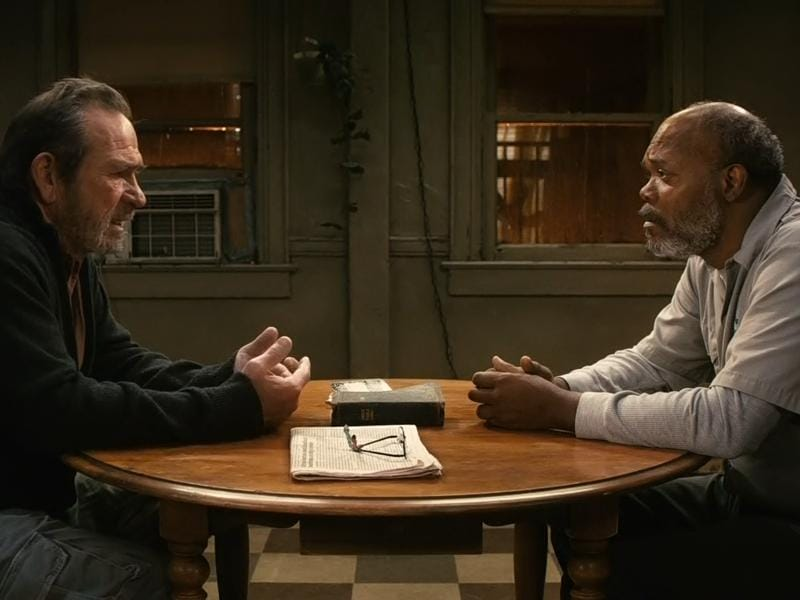 The Sunset Limited (2011): Two men in an apartment with their opposing beliefs.