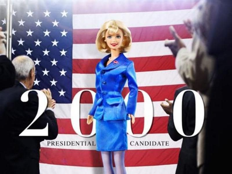 Presidential Candidate Barbie, 2000. (MAttel)