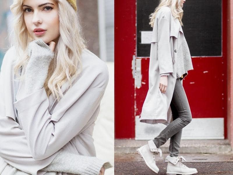 Ebba, a 20 year old blogger and model, currently living in Berlin from Umeå, Sweden in a messy  but co-ordinated outfit. (lookbook.NU)