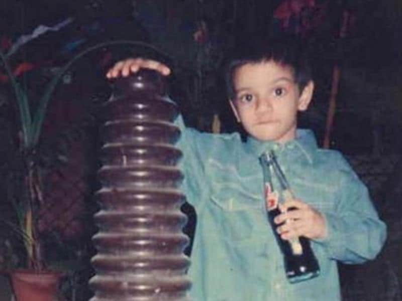 Sooraj Pancholi shared a childhood pic where he looks cute as hell! (Instagram)