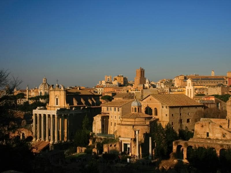 The Roman Forum, a mini city of ruins, was the centre of political and public life during the ancient era.  (Picture courtesy: Mad Art Photography)