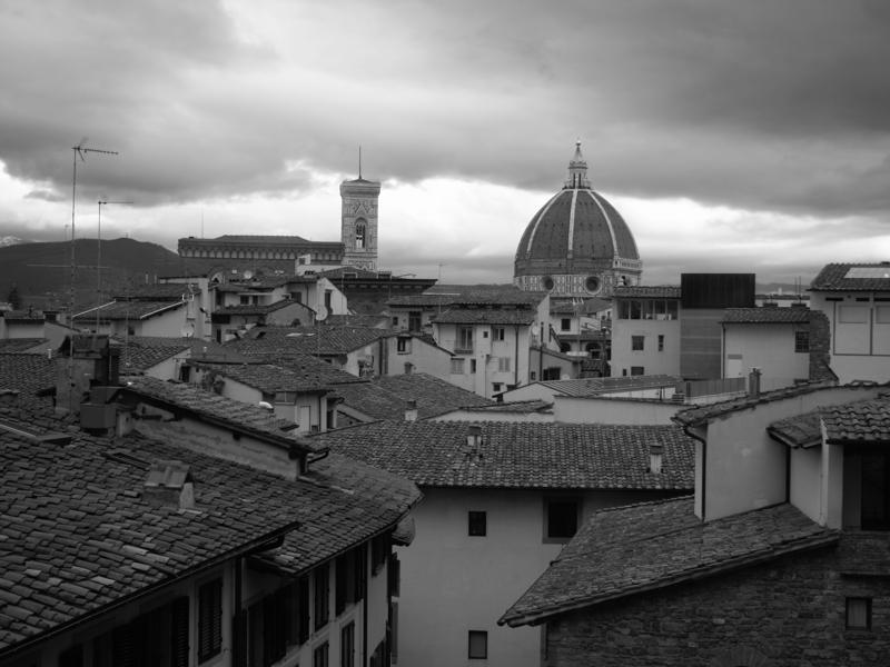 The distinct domed structure of Santa Maria del Fiore is visible from the Uffizi Gallery. (Picture courtesy: Mad Art Photography)