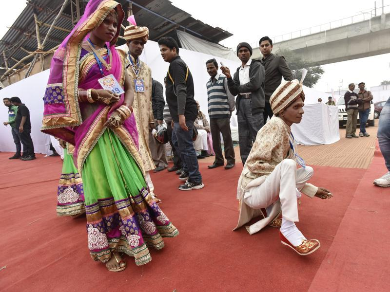 Over 1,000 such marriages have already been solemnised over the years, it said. (Virendra Singh Gosain/HT)