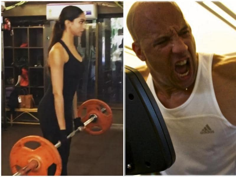 The training is in full swing as Deepika Padukone gets ready to make her much-hyped Hollywood debut opposite Fast & Furious star Vin Diesel in xXx: The Return of Xander Cage.  (Instagram)