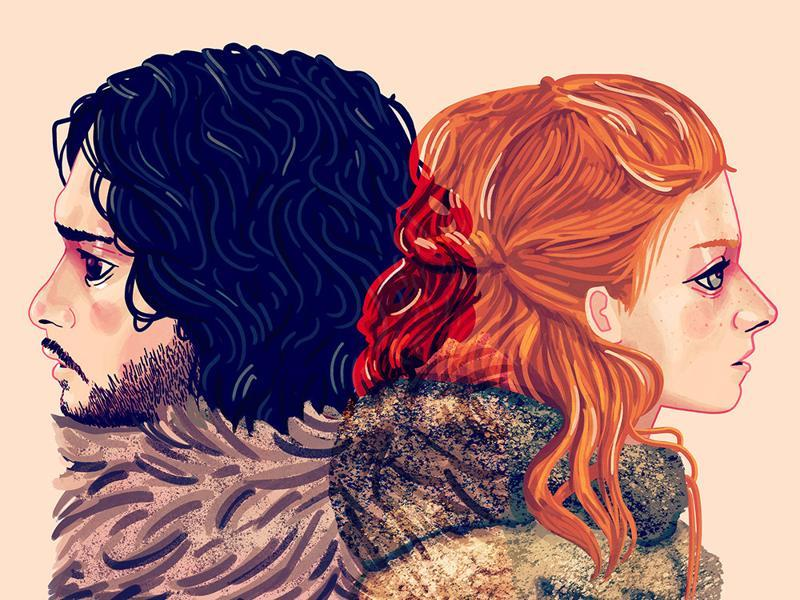 You Know Nothing: Inspired by Jon Snow and Ygritte from Game of Thrones. (Gallery1988)