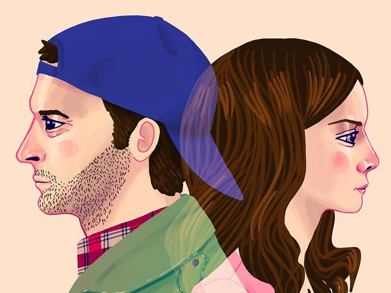 I am All In: Inspired by Luke and Lorelei from Gilmore Girls. (Gallery1988)