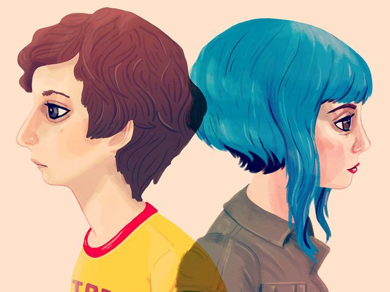I'm in Lesbians With You: Inspired by Scott and Ramona from Scott Pilgrim vs the World. (Gallery1988)