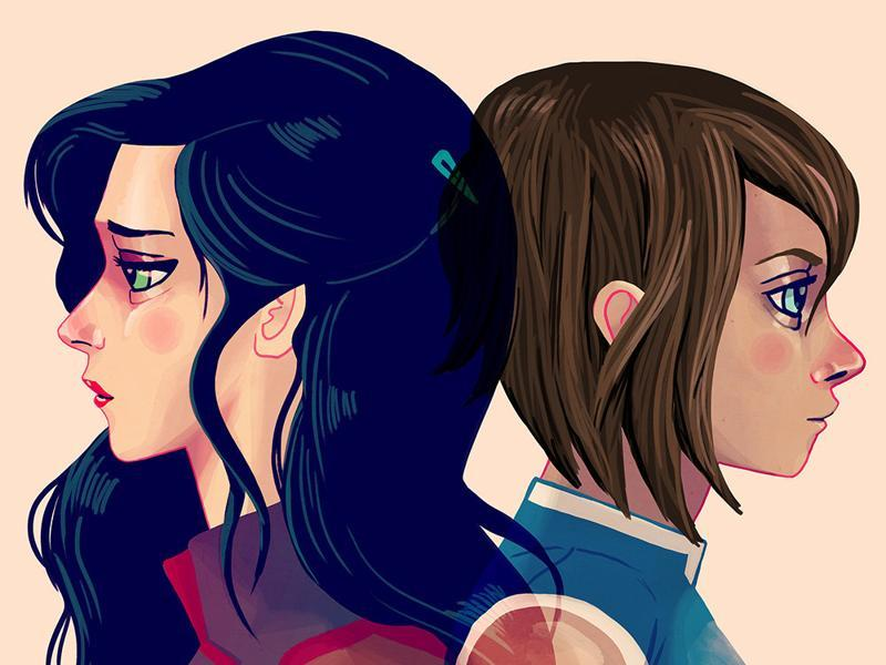 Let's Go On a Vacation: Inspired by Korra and Asami from The Legend of Korra. (Gallery1988)