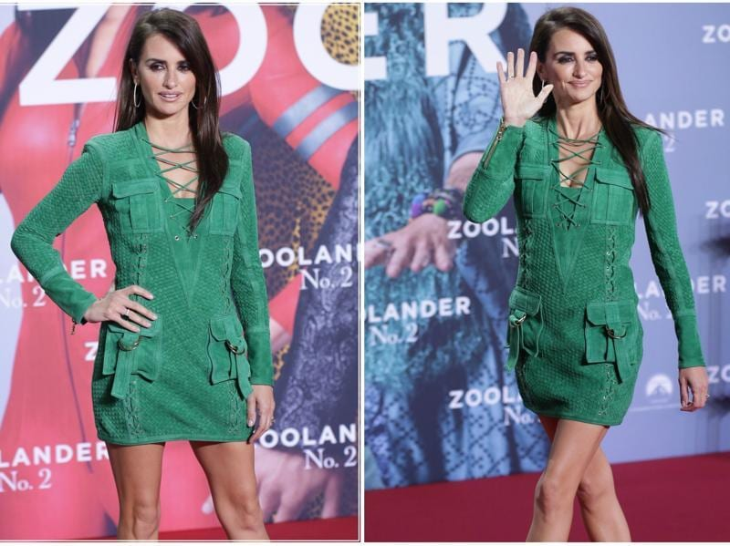 Penelope Cruz glams up the Zoolander No 2 red carpet premiere in Berlin. (AFP)