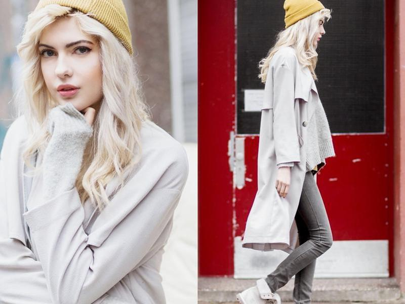 Nail an effortless daytime look with this comfy midi coat in luminous grey hue. (LookBook/ AFP)