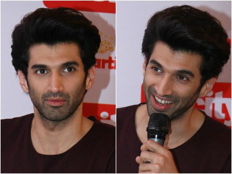 With her, was the charming and handsome Aditya Roy Kapur. (HT Photo)