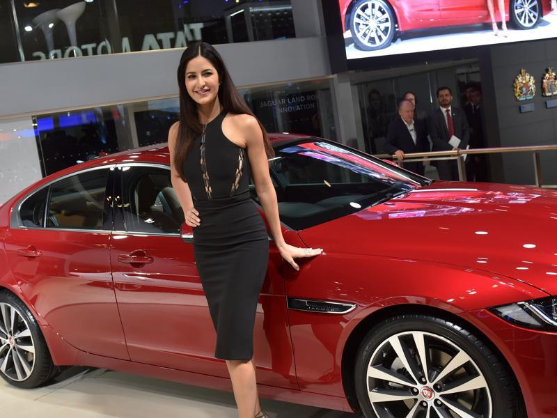 new car launches at auto expoCelebrities shine with the car launches of the 2016 Delhi Auto