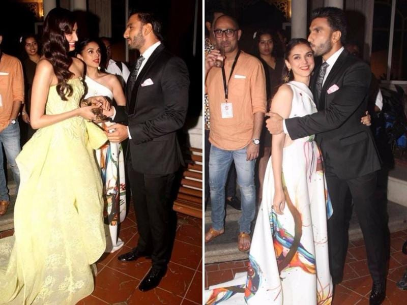 Since all the cuteness just kept rolling in and we couldn't get enough of these sweetest Ranveer-Athiya-Aditi moments, here's more of the trio. (AFP)