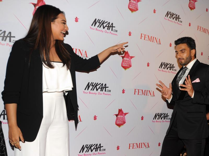 But nobody, it seems, was having as much fun as our darling Sonakshi Sinha. Just look at these too. Adorable. (AFP)