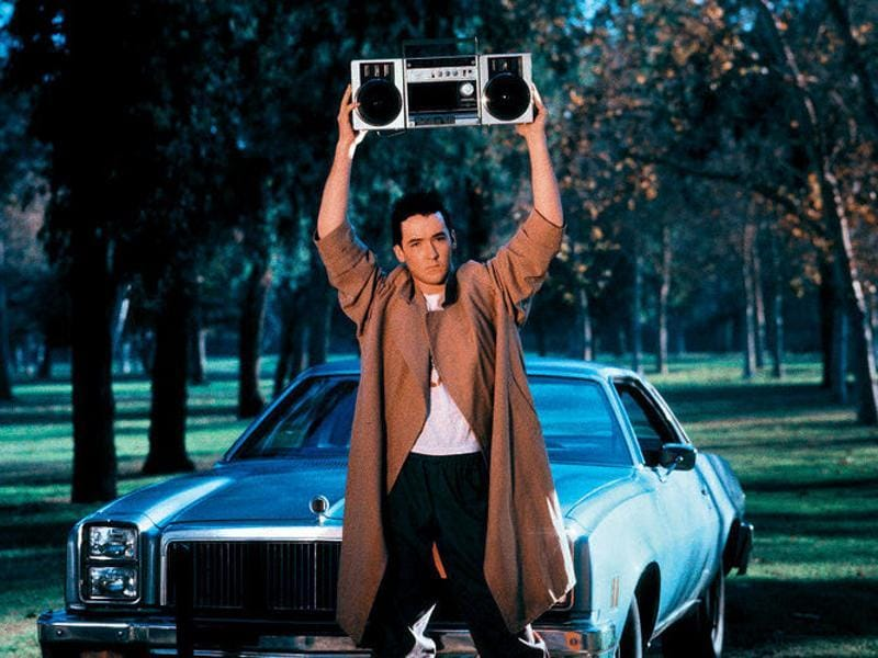 """In your eyes, the light the heat, in your eyes, I am complete."" How can you stay mad at your boyfriend if he looks like John Cusack and is holding a boombox outside your window? Say Anything gave so many lovelorns a sure shot way of getting back their love. (YouTube)"