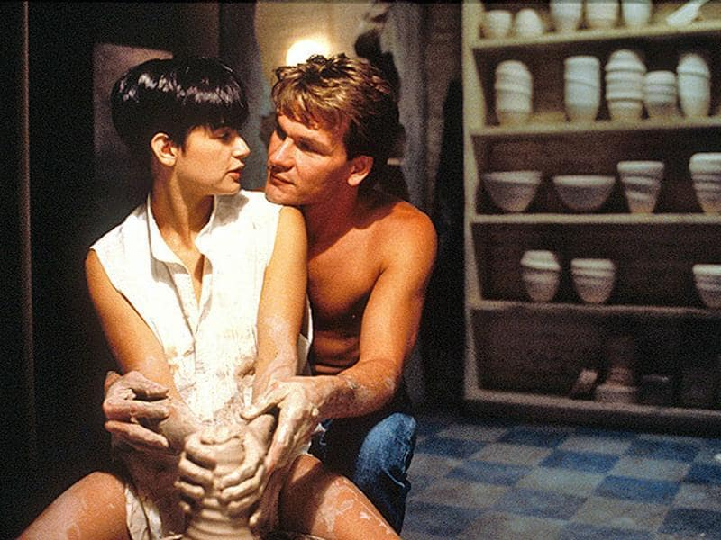 """Oh, my love, my darling I've hungered for your touch, a long, lonely time."" Patrick Swayze and Demi Moore's Ghost may on cover seem like a regular stupid movie with a sad CGI ghost but it is so much more than that. An all-transcending love that doesn't die even after you have. (YouTube)"