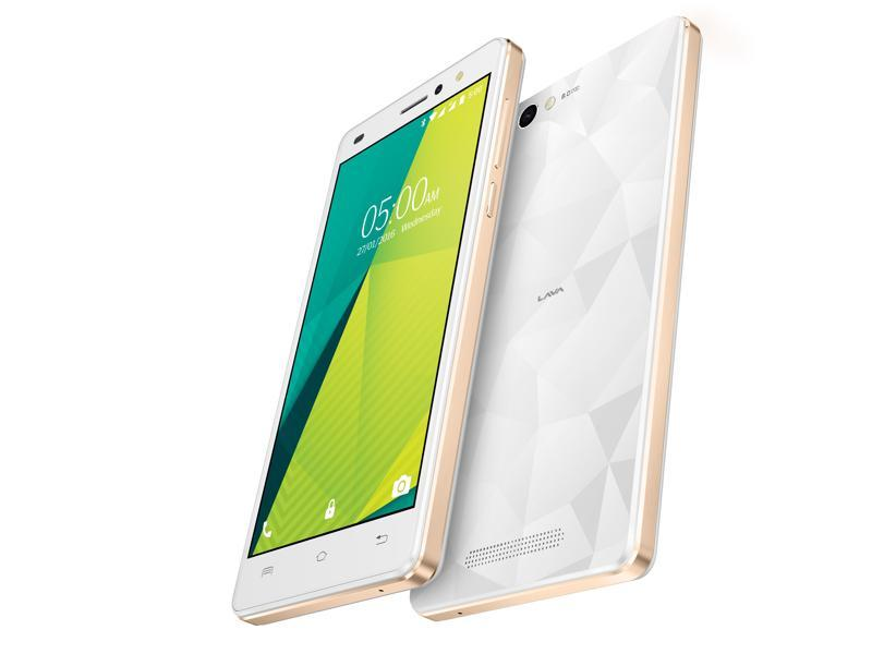 Priced at Rs. 7,999, the smartphone will be available across major retailers across the country starting third week of February. (LAVA)