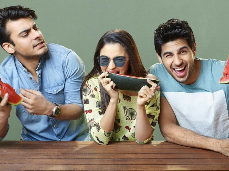 Fawad Khan and Sidharth Malhotra play brothers who fall in love with the same girl, Alia Bhatt. (Dharma )
