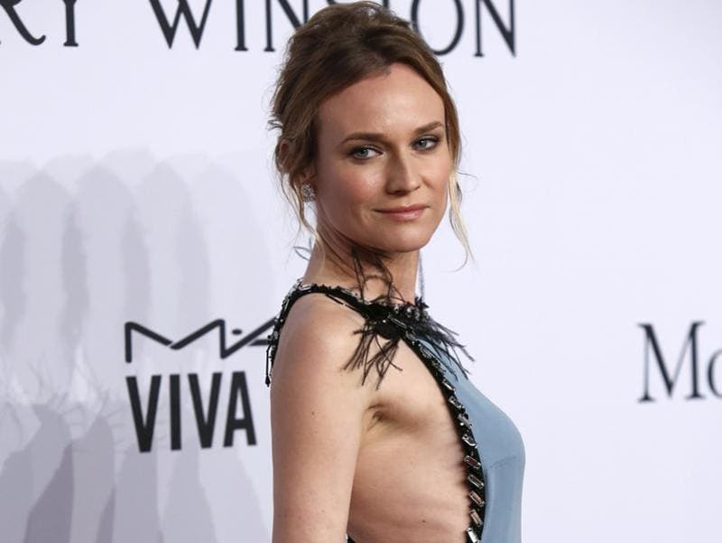 National Treasure actor Diane Kruger looks absolutely gorgeous at the amfAR 2016 rally in New York City. (REUTERS)