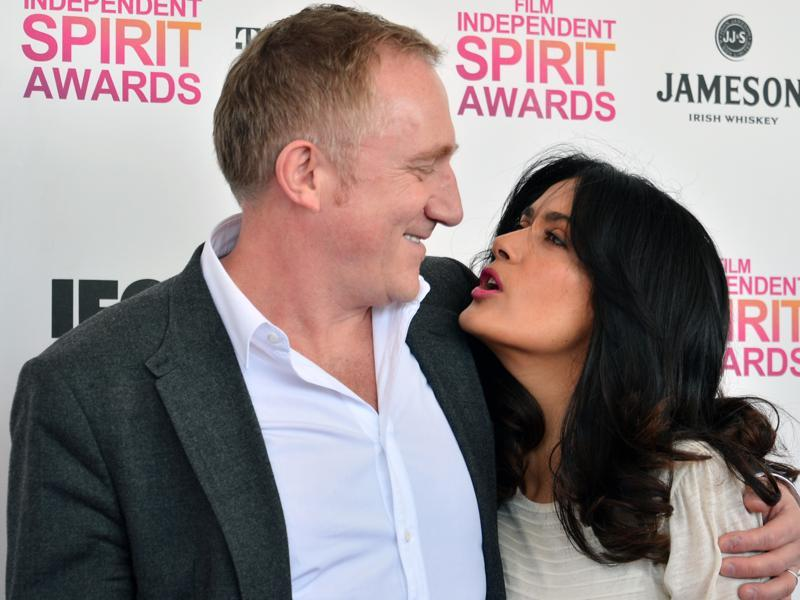 "Hollywood actor Salma Hayek and French businessman Francois-Henri Pinault not only chose the most romantic day to get married, but they also chose the most romantic city to say ""I Do"". The couple got married on Valentine's Day in 2009 in Paris. The couple have a daughter together named Valentina Paloma Pinault. (TWITTER)"