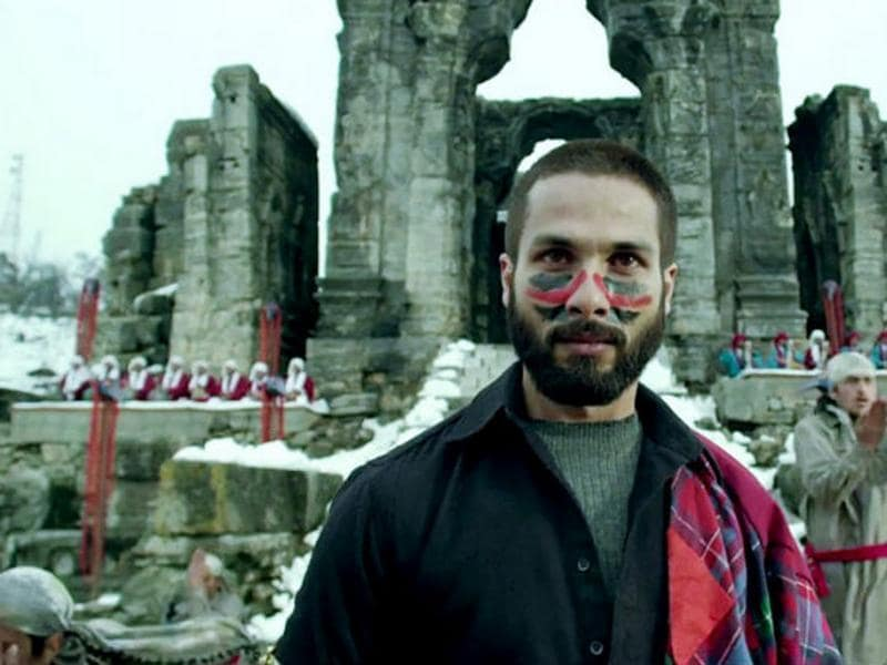 Haider: Vishal Bhardwaj based his adaptation of Hamlet in the Valley. Shahid Kapoor played the lead role in the 2014 film.