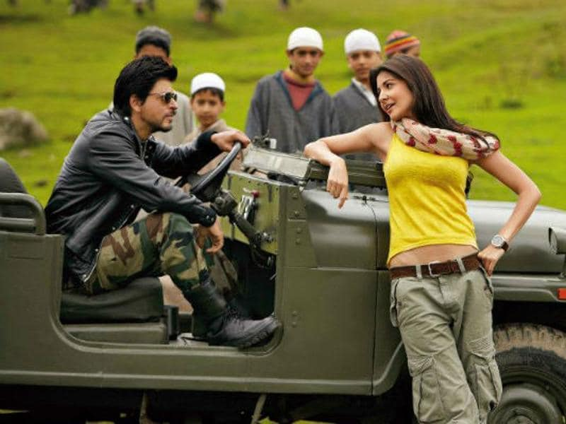Jab Tak Hai Jaan: The 2012 film had several portions shot in Kashmir. Shah Rukh Khan, Anushka Sharma and Katrina Kaif played lead roles in the movie.