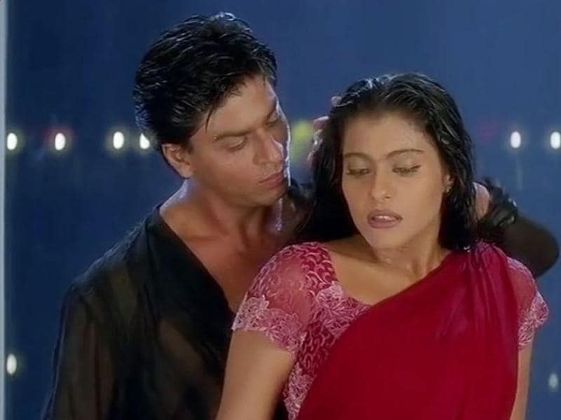 """Hum ek baar jeete hain, ek baar marte hain aur pyaar bhi ek hi baar hota hai"" It is impossible to talk about romance and leave Shah Rukh and Kajol out of the list. Together they gave us so many beautiful movies and Kuch Kuch Hota Hai is one. Remember when they first danced together in the camp after running from the rain? Remember how high the temperature soared here? (YouTube)"