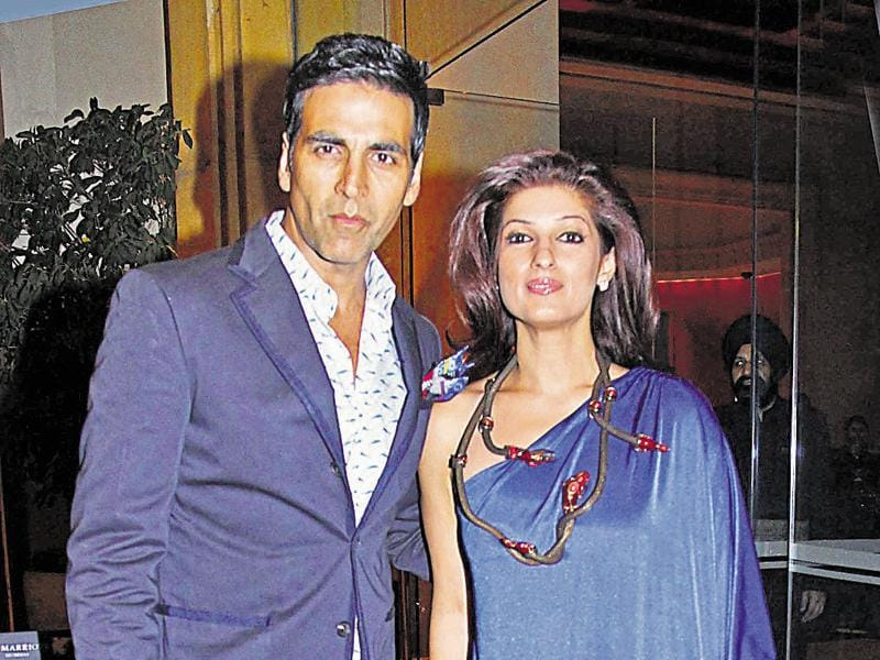 "Akshay Kumar and Twinkle Khanna recently celebrated their 15th anniversary and are one of the few couples in Bollywood who are still going strong. Akshay, on his anniversary, shared a picture with his wife Twinkle and wrote, ""The one idea that changed my life was the day I decided to get ­married to my wife.'' Nothing can be a sweeter compliment for any wife from her hubby. (Photo by Yogen Shah)"