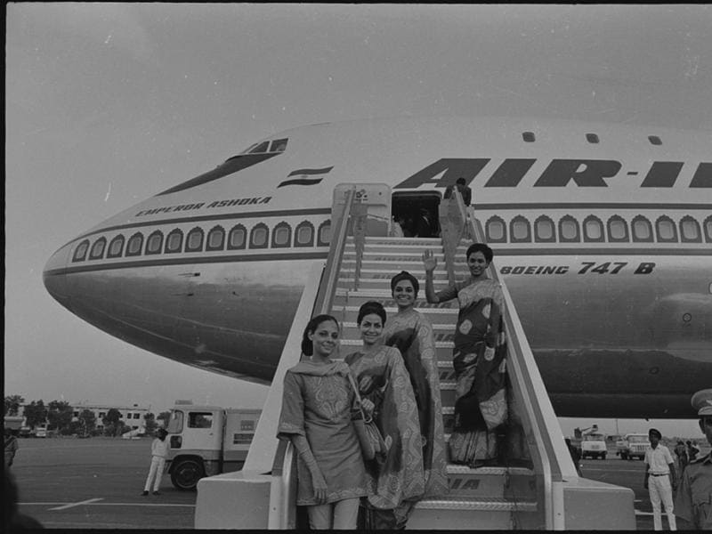 In 1971, Air India took delivery of its first Boeing 747-200B named Emperor Ashoka. (HT Archives)
